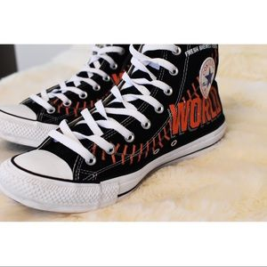 All Star Converse 2014 Giants World Champs  11.5